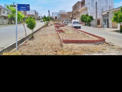 شروع پروژه ساخت پارک نواری